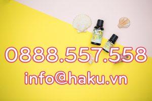 thong bao thay doi hotline email haku scent